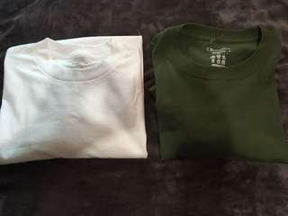 Authentic Reebok and Champion T-Shirt.