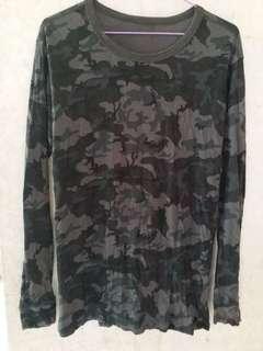 Black camo underwear黑迷彩打底長袖內衣