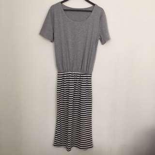 Stripe Dress #MY1010
