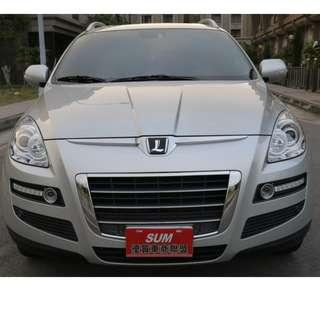 新 2011年 Luxgen 7 SUV  銀色 2.2