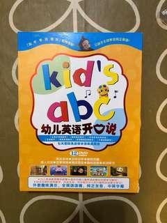 🈹️🈹️🈹️ Kid's abc 幼兒英語開口說 12's DVDs