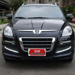 新 2011年 Luxgen 7 SUV 黑色 2.2