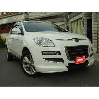 新 2012年 Luxgen 7 SUV 白色 2.2