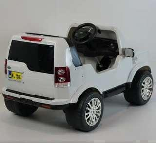Range Rover Power Wheel New Licensed Land Rover Discovery 12v Kids Ride On Power Wheels