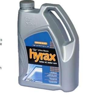 ORIGINAL MINYAK PELINCIR KENDERAAN HIGH PERFORMANCE HYRAX OIL 10W-30 3L