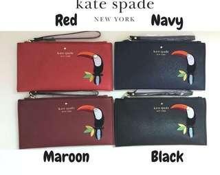Dompet / clutch Kate Spade Flamingo