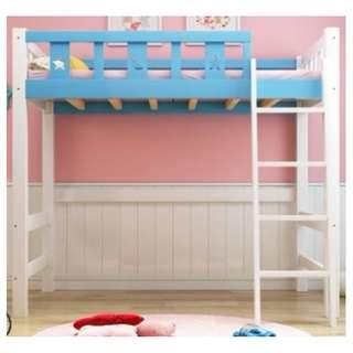 高架床 實木床 組合床 單人床 3尺床 書架 梯櫃 松木床 碌架床 租房 劏房 公屋 居屋 私樓 181010