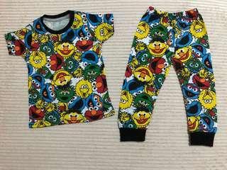 Elmo Pajamas Sleepwear