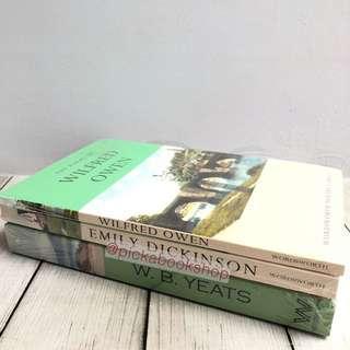 [DIJUAL SET] Selected Poems (Emily Dickinson, W B Yeats, Wilfred Owen)