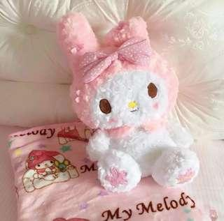 Melody Plush Toy With Blanket