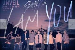 [Preorder] Stray Kids 3rd Mini Album I Am You