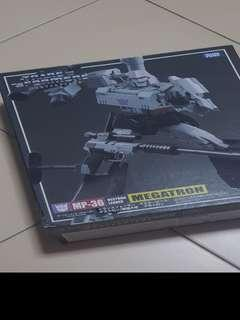 Authentic takara tomy mp-36 megatron (with coin)