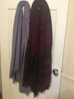 Winter scarves $10 each!