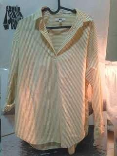 Uniqlo Yellow Stripes
