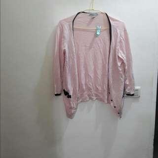 🐥贈送☆H&M粉色針織外套