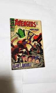 AVENGERS 46 SILVER AGE