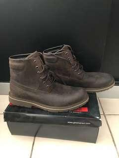 Gino mariani boot leather