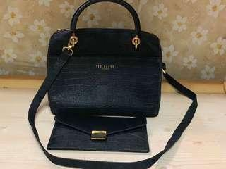 Ted baker bag,85%new,conditions as pic,size 25*15*12cm