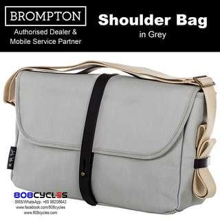BROMPTON Shoulder Bag in Grey