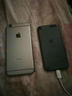 Apple Ipod and IP6 16gb