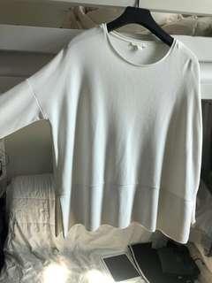 COS oversized body long sleeve in SIZE XS