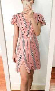 Andrea • Wrap dress • Can fit 25-30 waistline • Stretchable