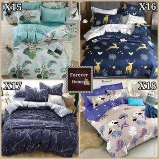 床單套裝 - 款式X1-X22