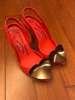 Vivienne Westwood x Melissa 高跟鞋 shoes 90% new 著過1-2次