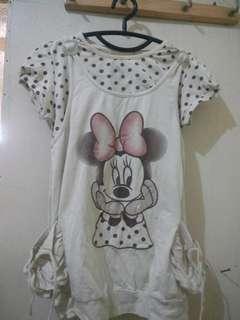 Tshirt minnie mouse