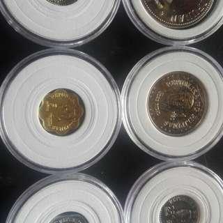 last 1pcs nlng ang available Brilliant Uncirculated ang bagong lipunan coins set
