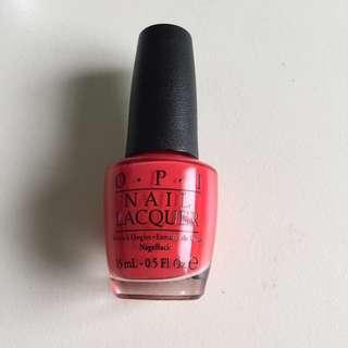 OPI Nail Lacquer On Collins Ave