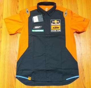 Kemeja Original Team Crew RedBull KTM Racing