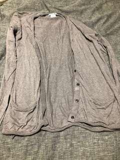 Lacoste grey sweater