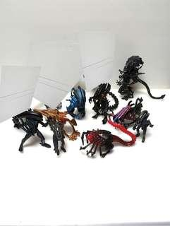 Vintage kenner aliens xenophobe figures lot