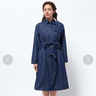Earth Music & Ecology Trench Coat