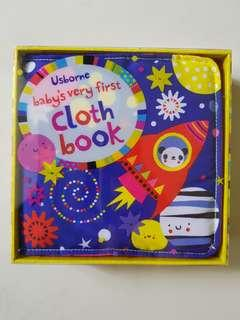 Usborne cloth book box set(blue)