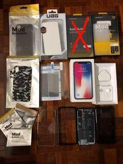 iPhone X 256GB MY set