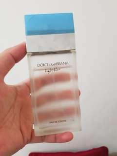 Parfum original preloved Dolce & Gabbana Light Blue