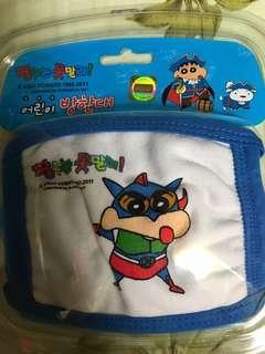 韓國直送蠟筆小新小童口罩