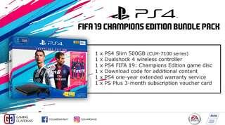 PS4 FIFA19 Champions Edition Bundle Pack