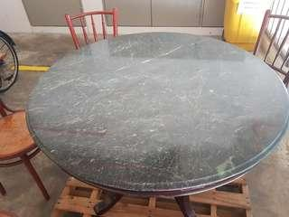 Marble Retro Round Table