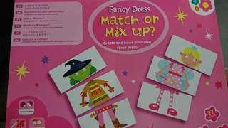 Puzzle card for kids