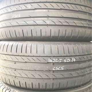 205/50x17 used tyres (Continental CSC5)