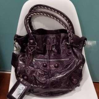 balenciaga purple bag 😍