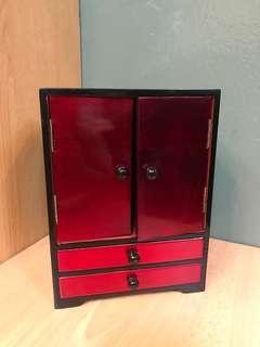 Red Jewellery Box/ Deco Box