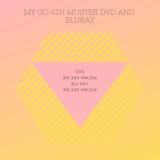 "[MY GO/PO] 4TH MUSTER DVD ""Happy Ever After"" DVD / BLU RAY"