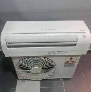 Mitsubishi 1.5hp wall (second hand) - Siap Pasang