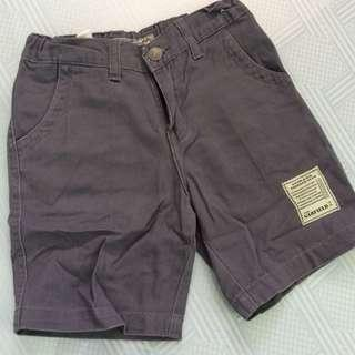 Gray Kids Shorts