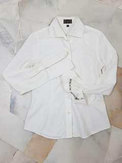 CUFFZ WHITE SHIRT OFFICE WEAR