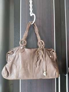Handbag Rabeanco authentic coklat